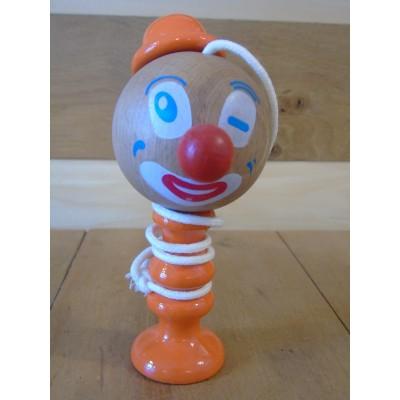 Bilboquet clown