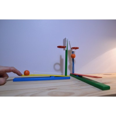 Panier de Basket en bois